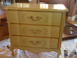 Before 3 Drawer Chest