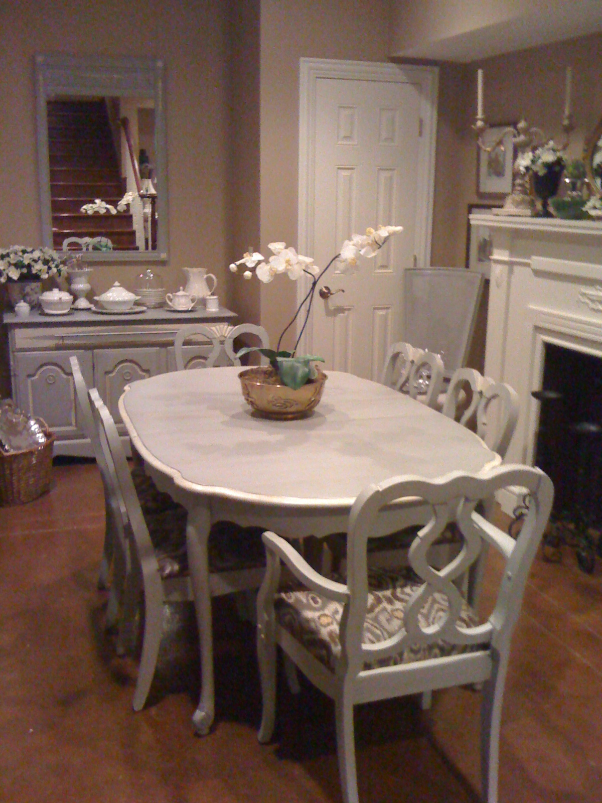 Dining Set Bernhardt French Table 6 Chairs REDEEMED VINTAGE